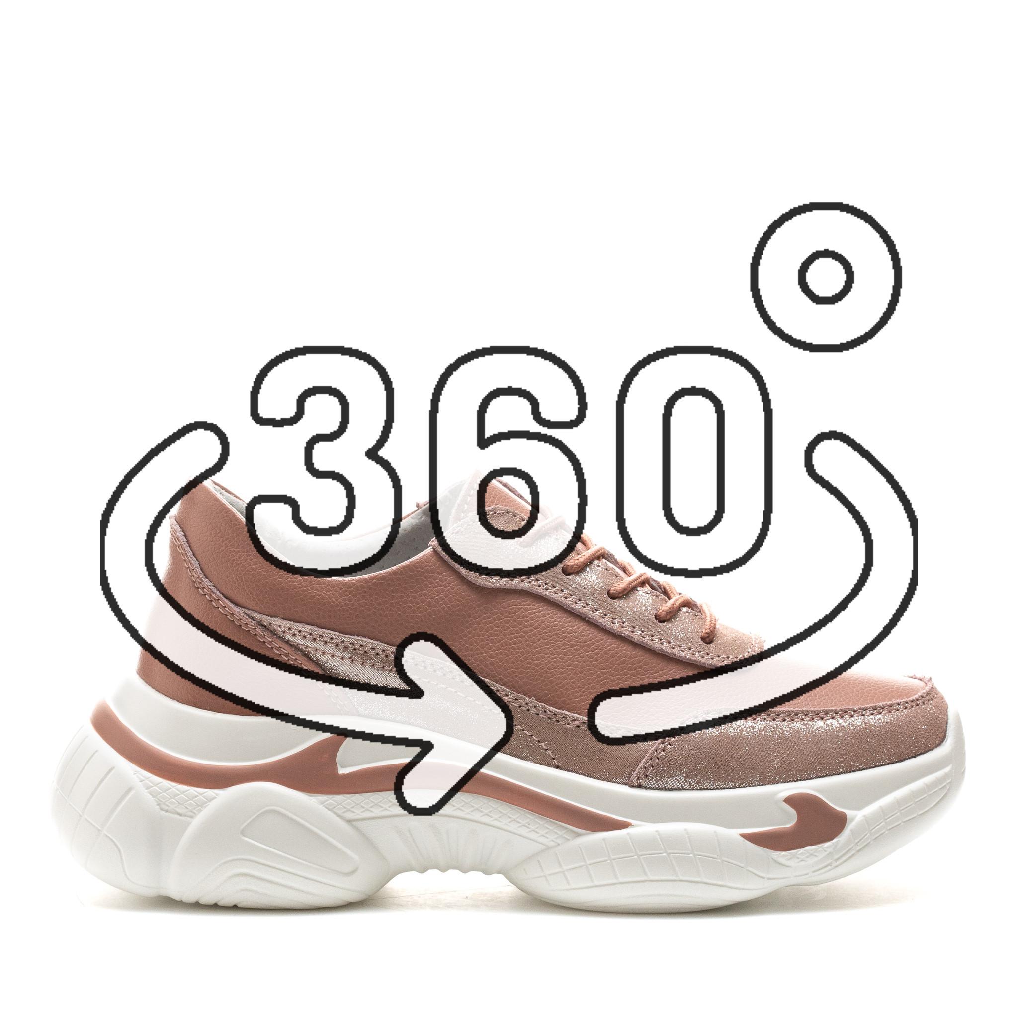 Pantofi Sport Cod: PL-3101 DK. PINK (E09)