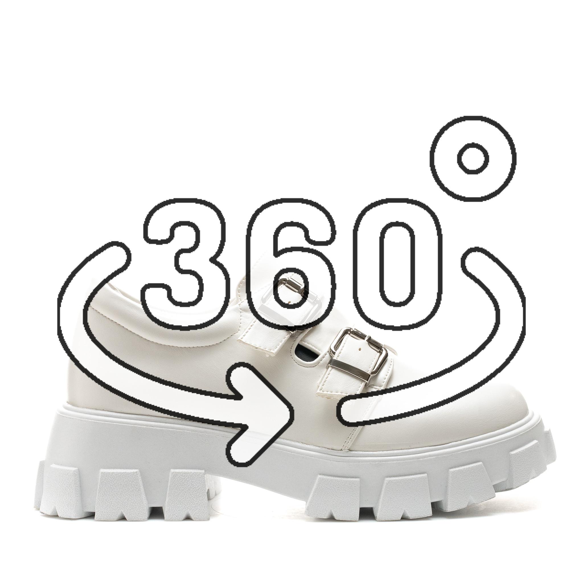 Pantofi Cod: SH1051 WHITE (E012)