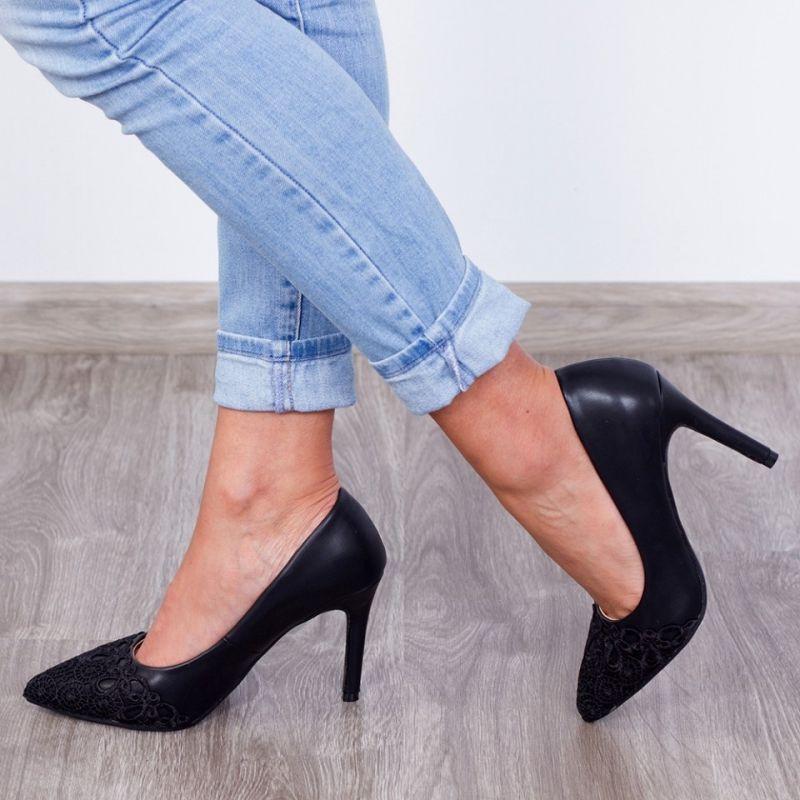 "Pantofi ""MireaFashion"" Cod: FM4062 Black (P 02)"
