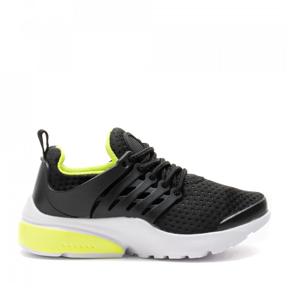 Pantofi Sport Cod: A26-88 BLACK (E02)