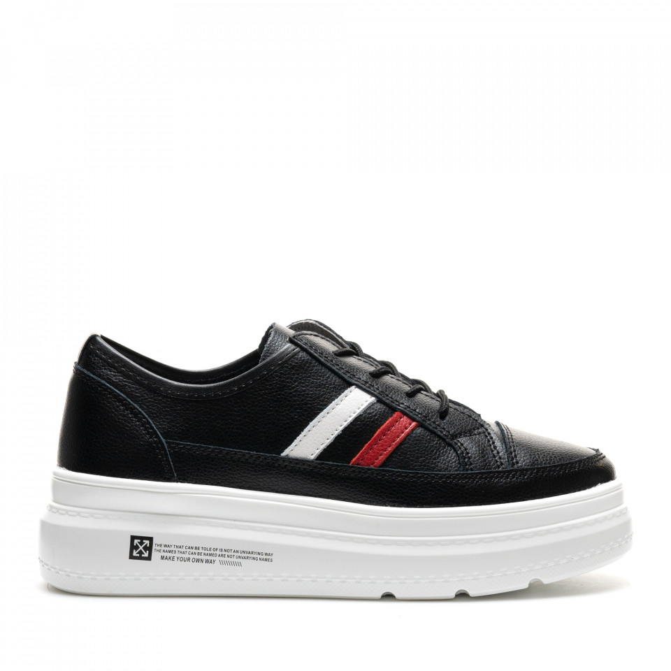 Pantofi Sport Cod: AW90 BLACK (E011)