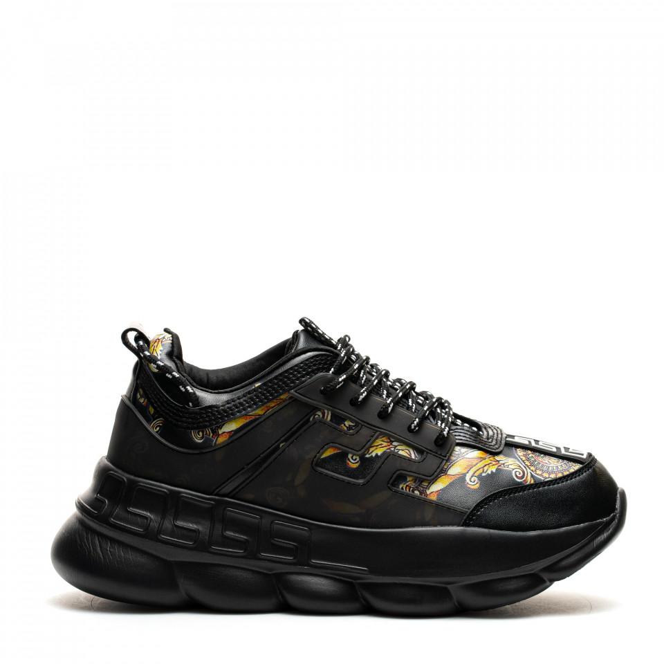 Pantofi Sport Cod: H3-1 BLACK (G02 I -04)