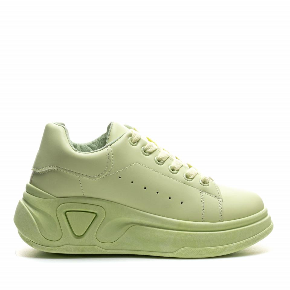 Pantofi Sport Cod: LA158 GREEN (G02)