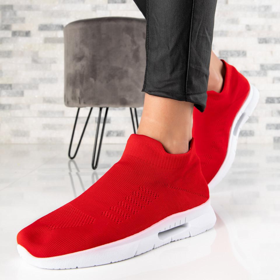 "Pantofi Sport ""MireaFashion"" Cod: 6680 RED (B012)"