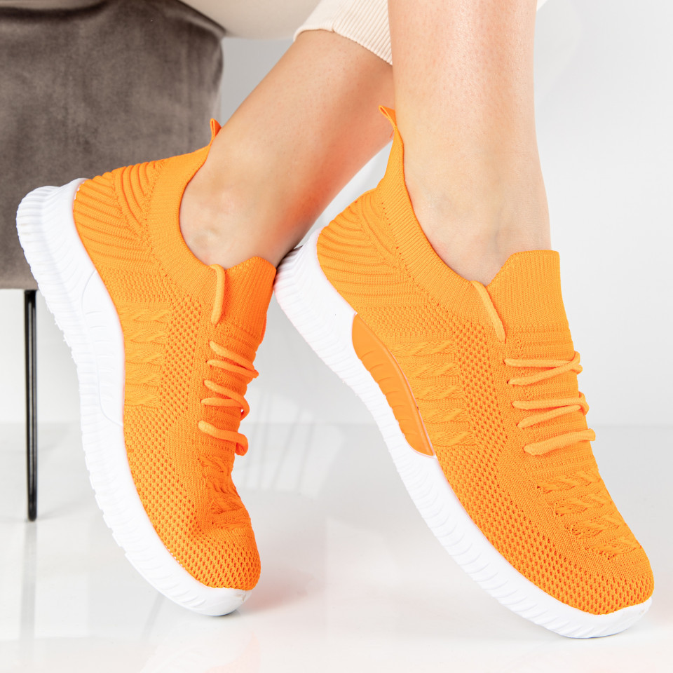 "Pantofi Sport ""MireaFashion"" Cod: LT175-7 ORANGE (E06)"