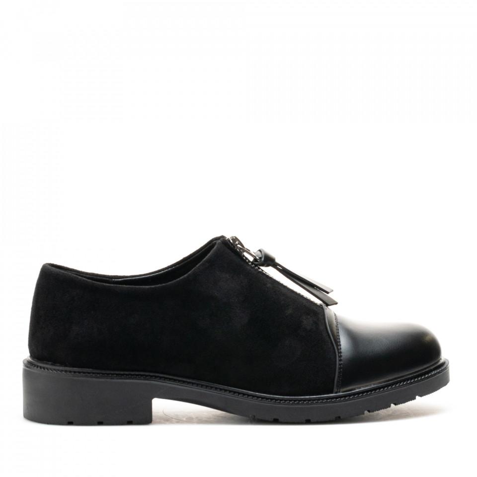 Pantofi Cod: W64-43B BLACK (G01)