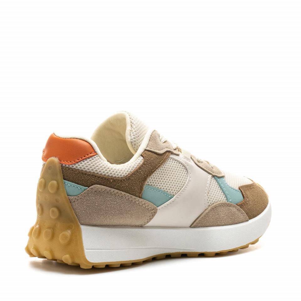 Pantofi Sport Cod: 6116 KHAKI (J01)