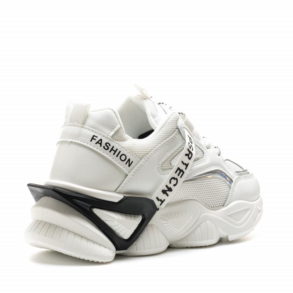 Pantofi Sport Cod: 8806-2 WHITE (i 02 )