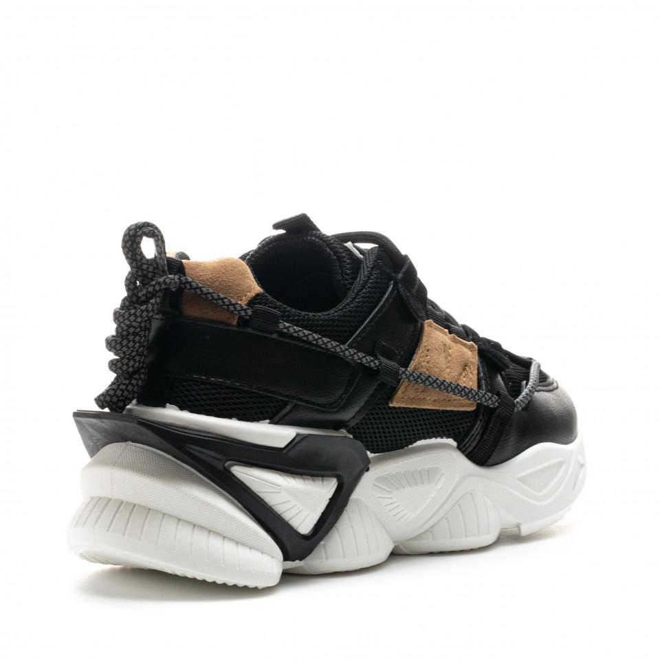 Pantofi Sport Cod: 8807-1 BLACK (J02)