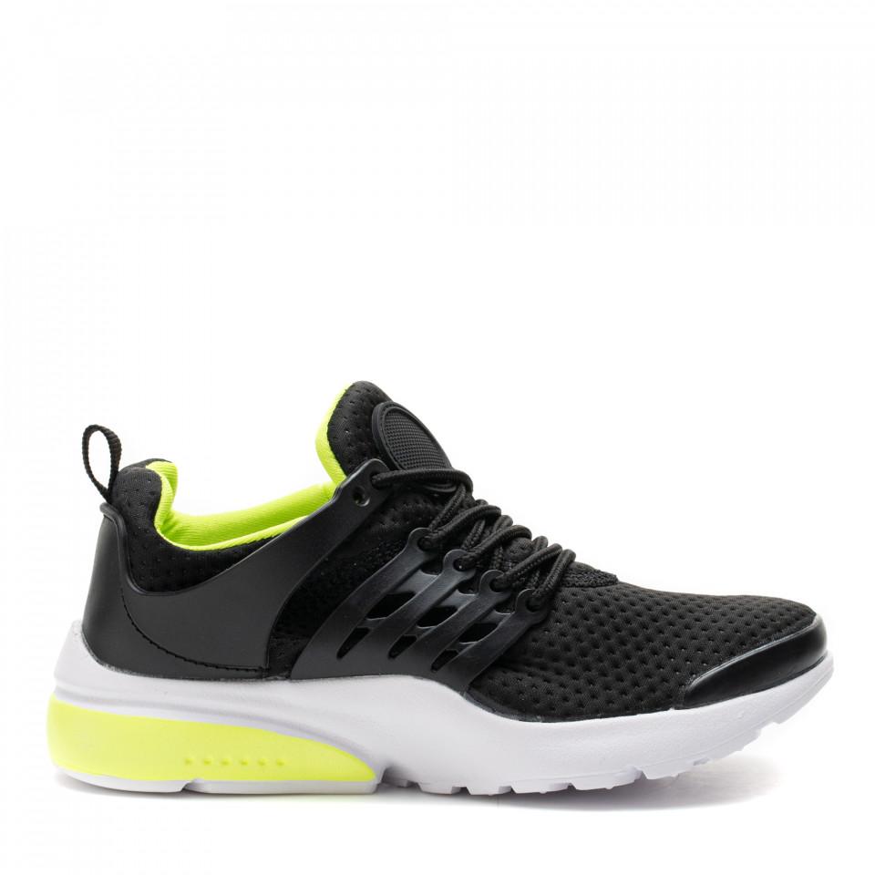 Pantofi Sport Cod: A26-87 BLACK (H04)