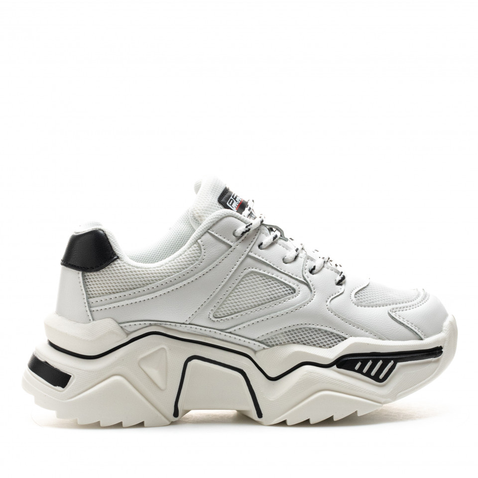 Pantofi Sport Cod: MQ2007-1 WHITE (I 04)