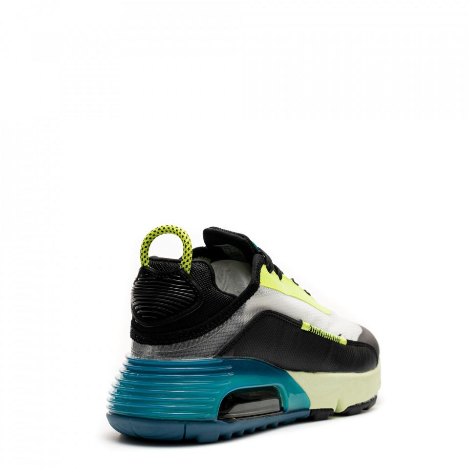 Pantofi Sport Cod: S221-10 BLACK/GREEN (G03)