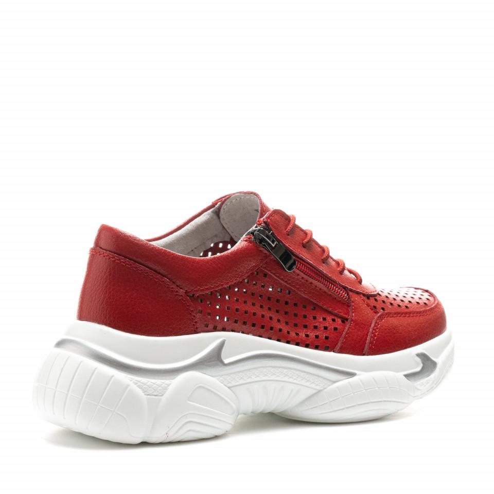 Pantofi Sport Cod: XH-2013 RED (F04)