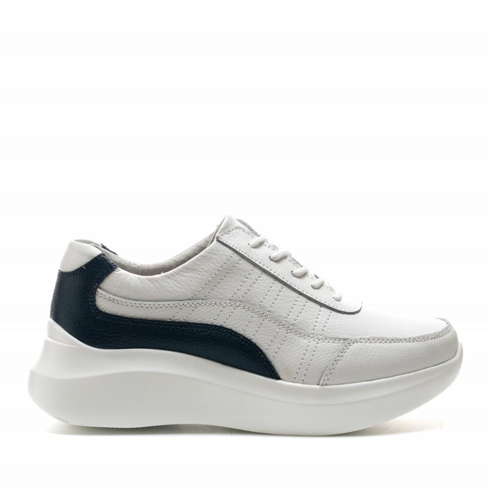 Pantofi Sport Cod: XH-2029 WHITE/NAVY (E09)