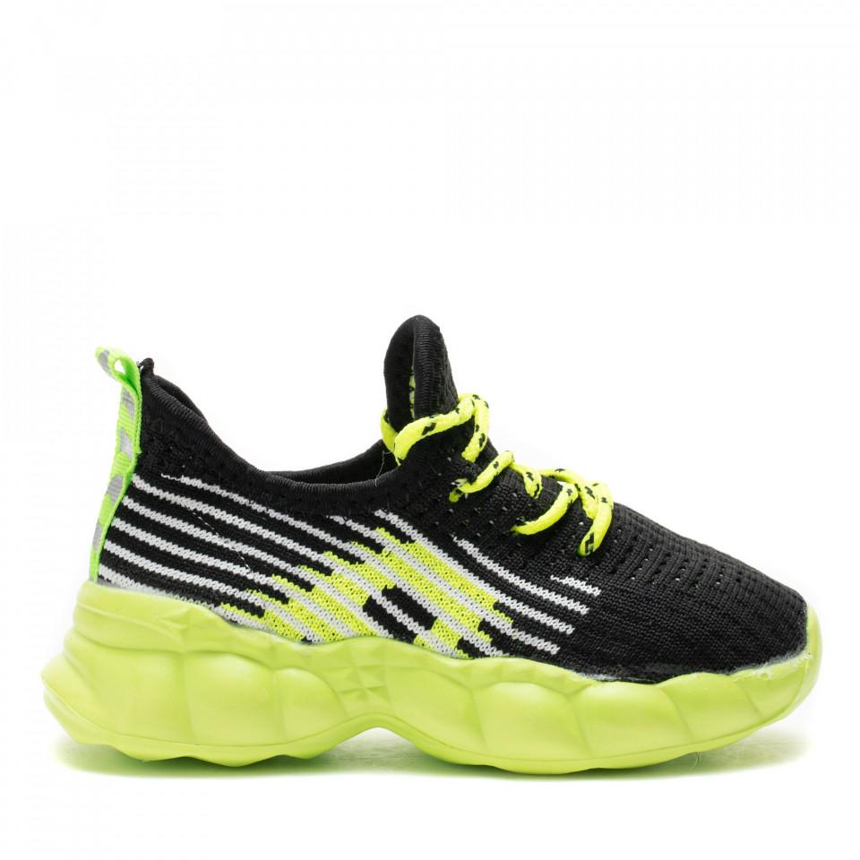 Pantofi Sport Cod: Z-7A GREEN (D03)