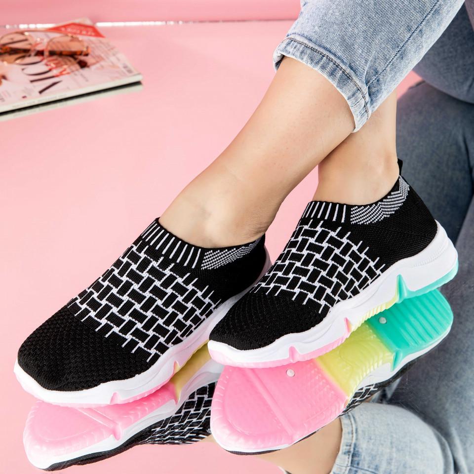 "Pantofi sport ""MireaFashion"" Cod: 0114-1 BLACK (T05)"
