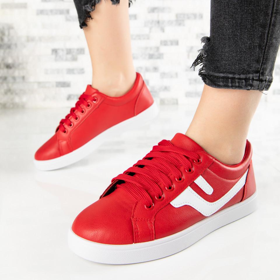 "Pantofi Sport ""MireaFashion"" Cod: A1810-5 RED (C 012)"