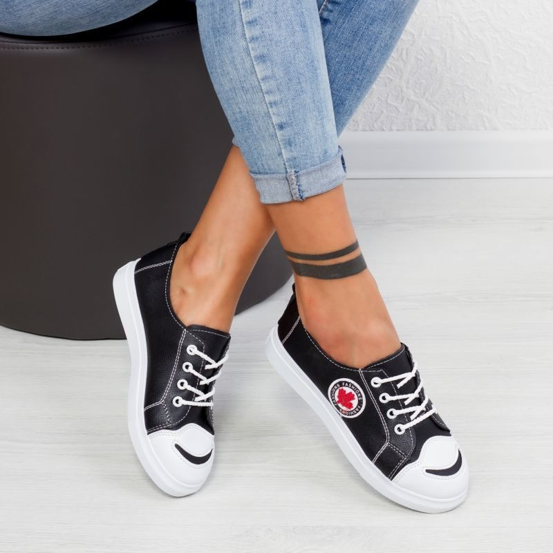 "Pantofi Sport ""MireaFashion"" Cod: C-7 BLACK (T04)"
