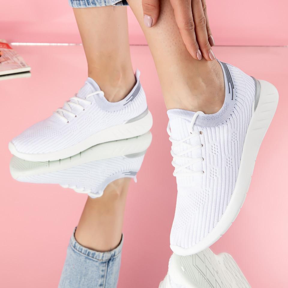 """Pantofi sport """"MireaFashion"""" Cod: D22 WHITE (B012)"""
