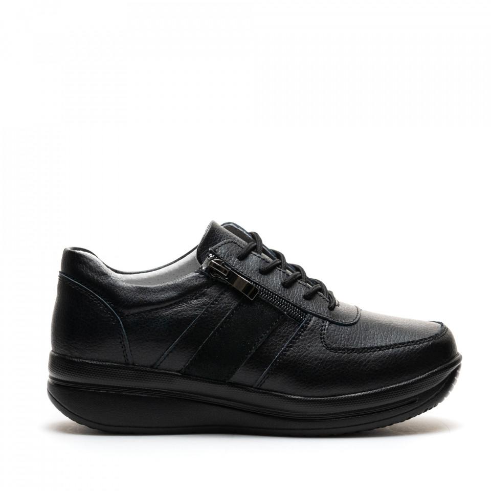 Pantofi Cod: PL-8001 BLACK (J01)