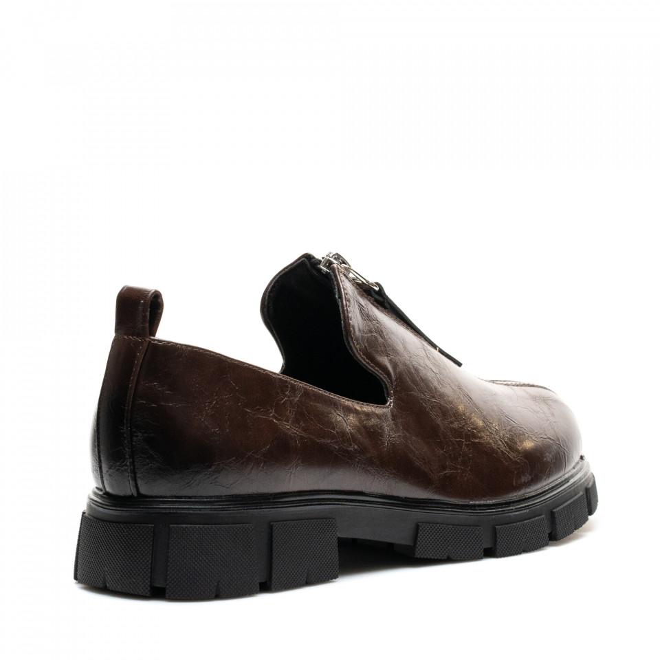 Pantofi Cod: W77-57D BROWN (C 08)
