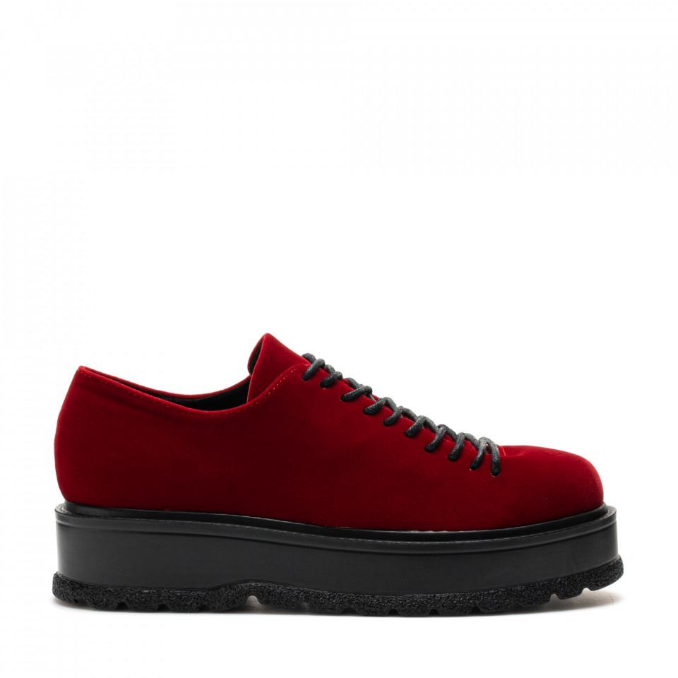 Pantofi Cod: XH-30 RED (E012)