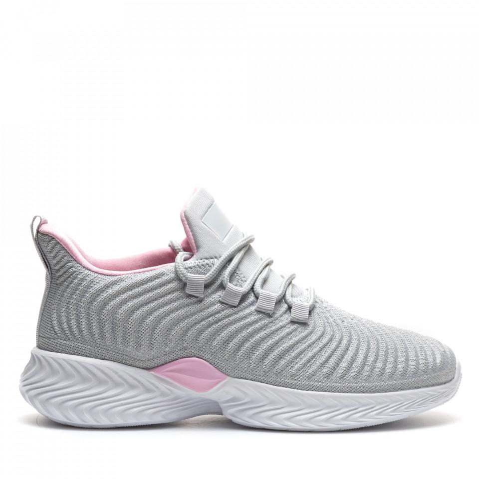 Pantofi Sport Cod: D8305-6 GREY/PINK (G01)
