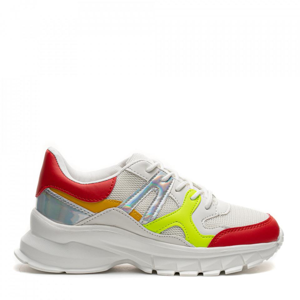 Pantofi Sport Cod: HQ-M21 WHITE (E04)