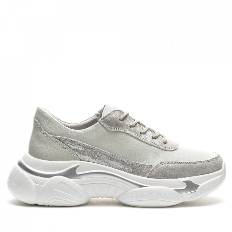 Pantofi Sport Cod: PL-3101 SILVER (F03)