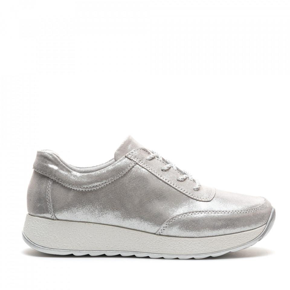 Pantofi Sport Cod: PL-3107 SILVER (C 05)