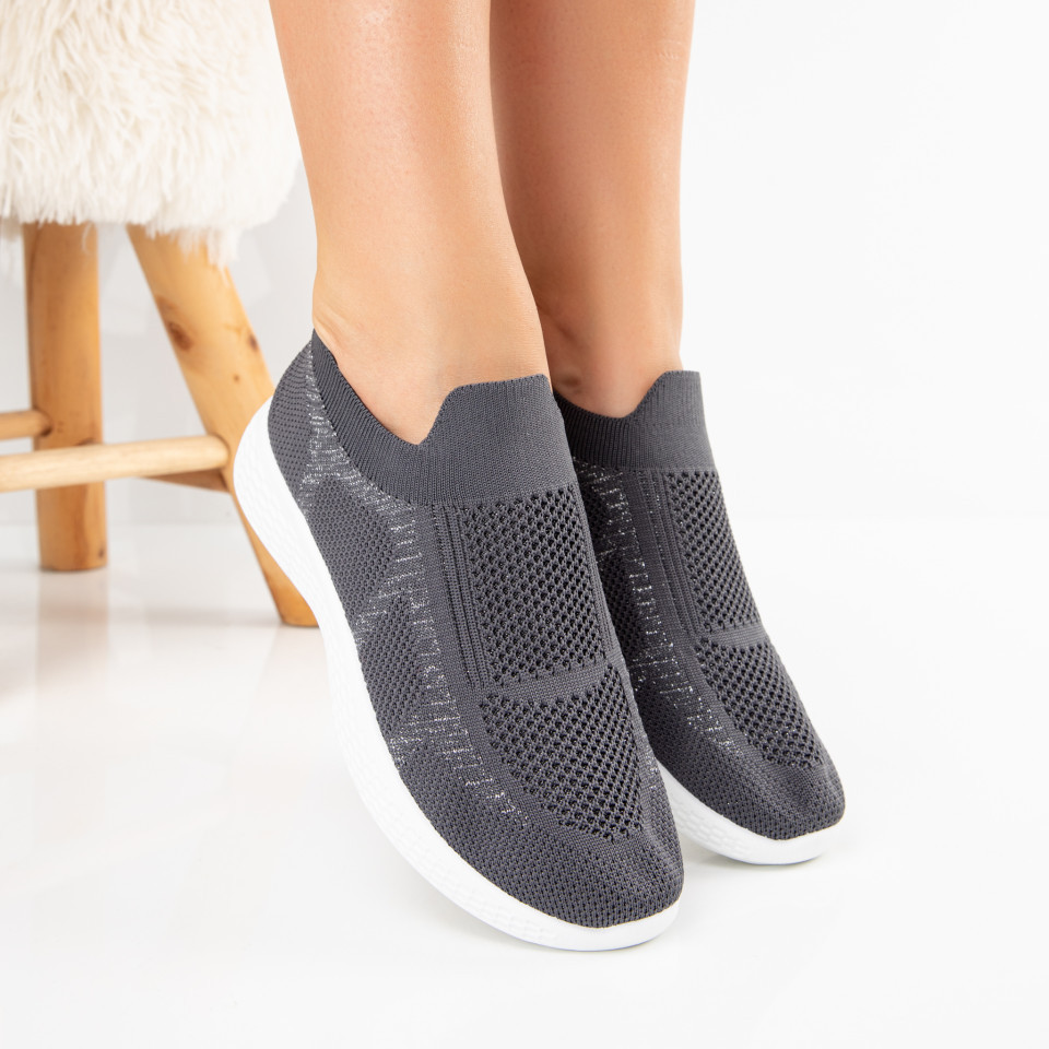 "Pantofi Sport ""MireaFashion"" Cod: 780-2 GREY (M2)"