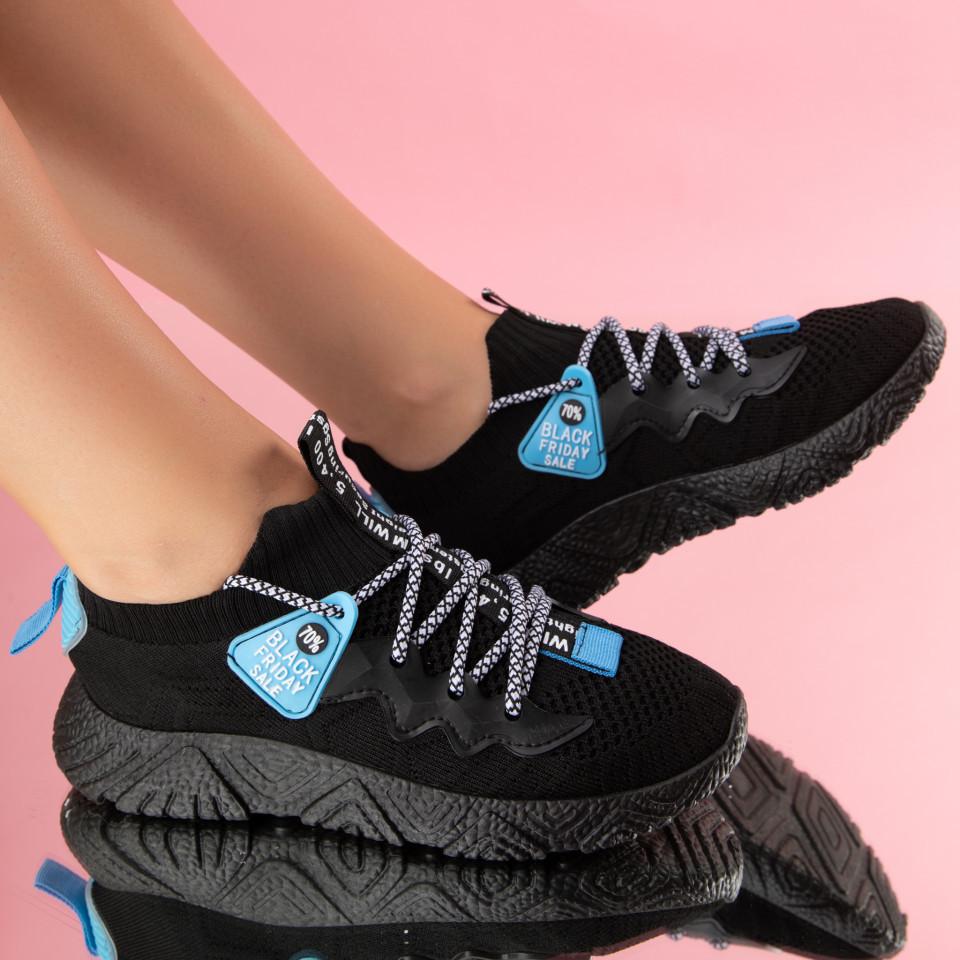 "Pantofi Sport ""MireaFashion"" Cod: 801-1 BLACK (A02)"