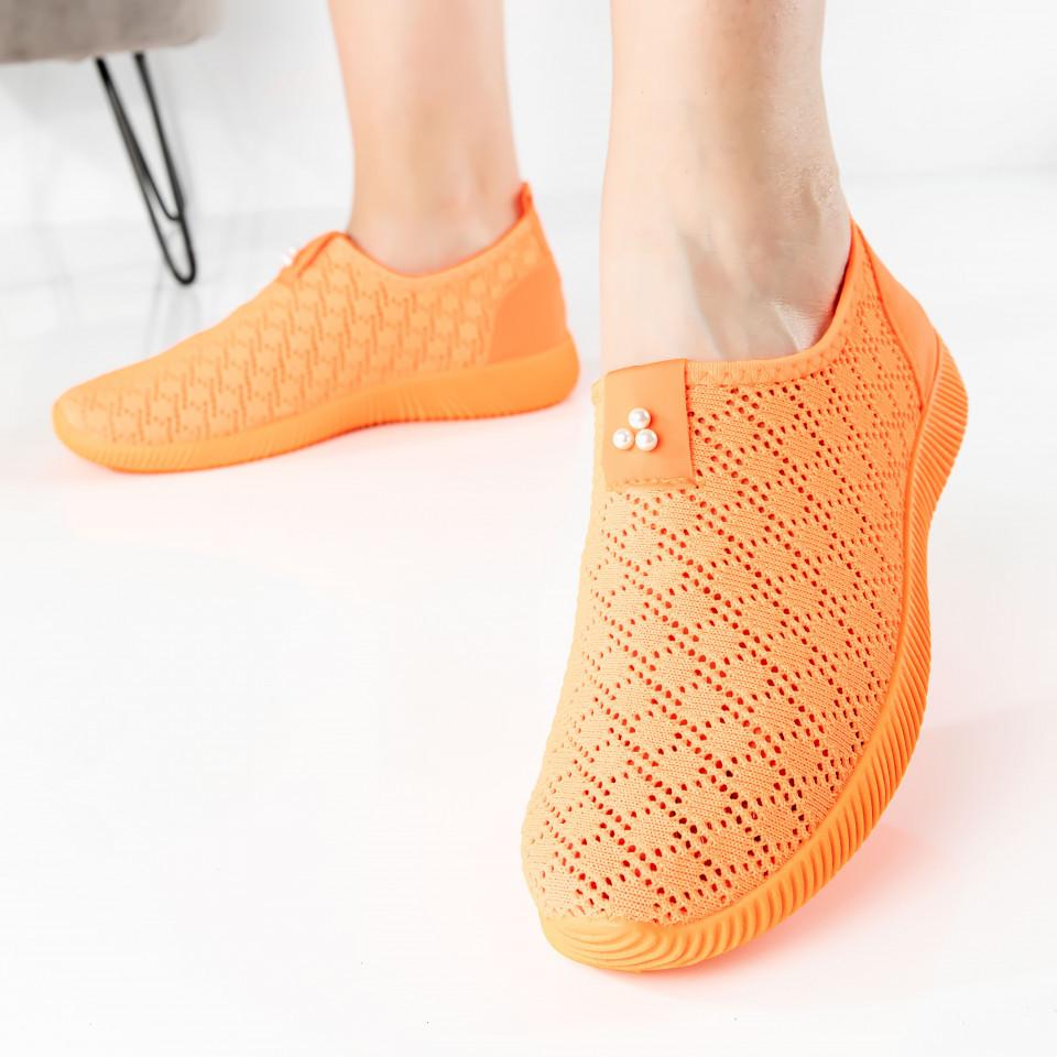 """Pantofi sport """"MireaFashion"""" Cod: AJ55-6 ORANGE (E04)"""