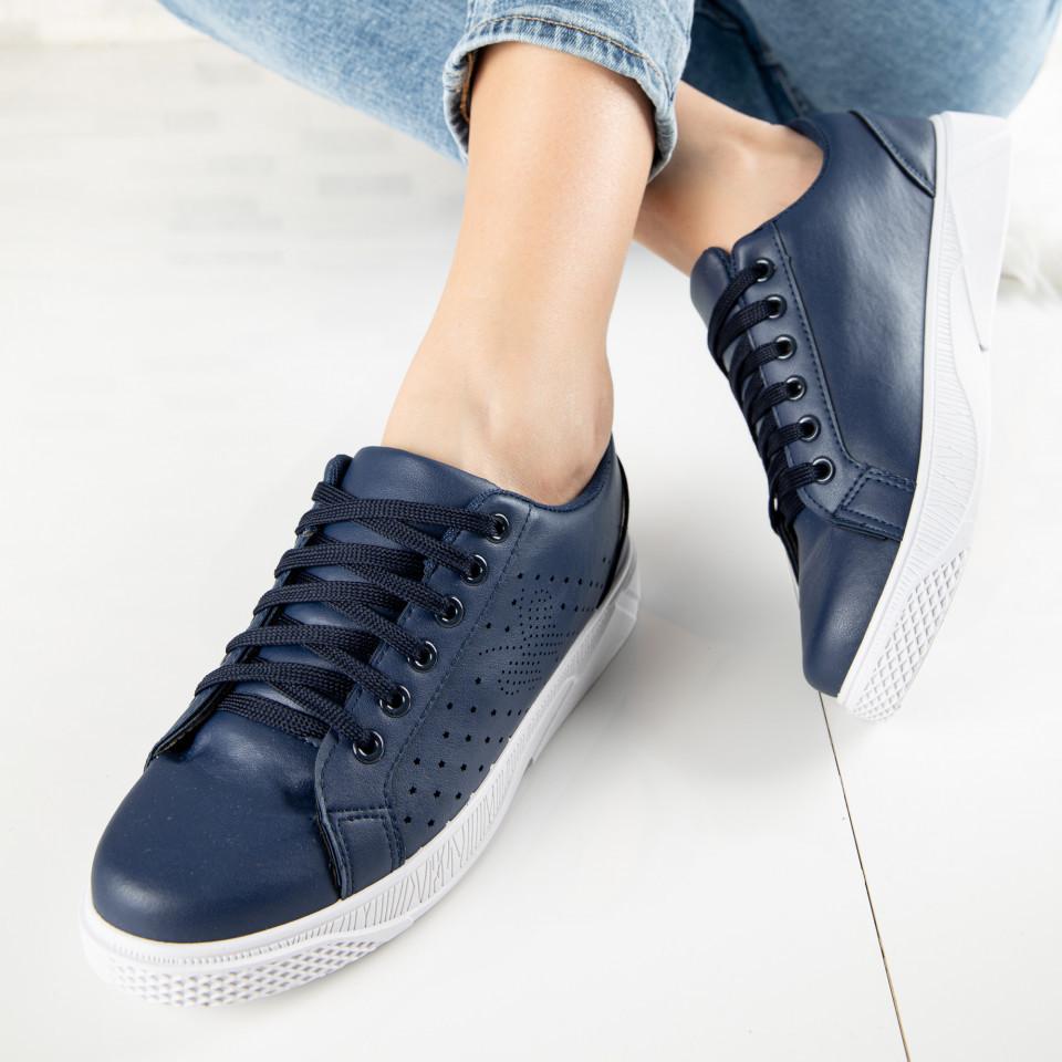 "Pantofi Sport ""MireaFashion"" Cod: F1826-3 BLUE (P16)"