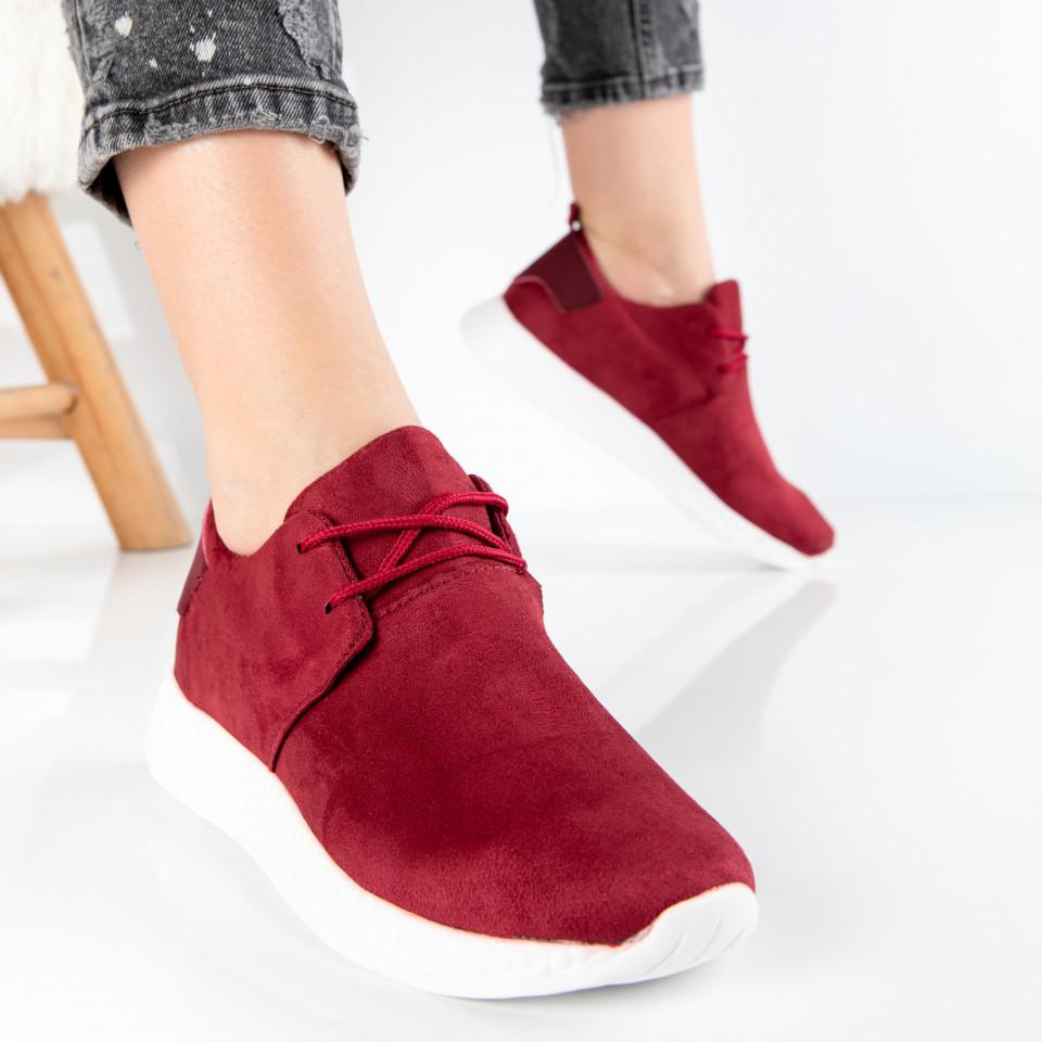 "Pantofi Sport ""MireaFashion"" Cod: W818 WINE (G3)"