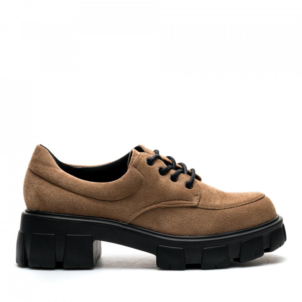 Pantofi Cod: A21-29 KHAKI (C 08)