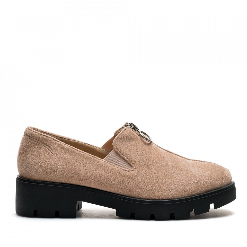 Pantofi Cod: DS12A BEIGE (C 04)
