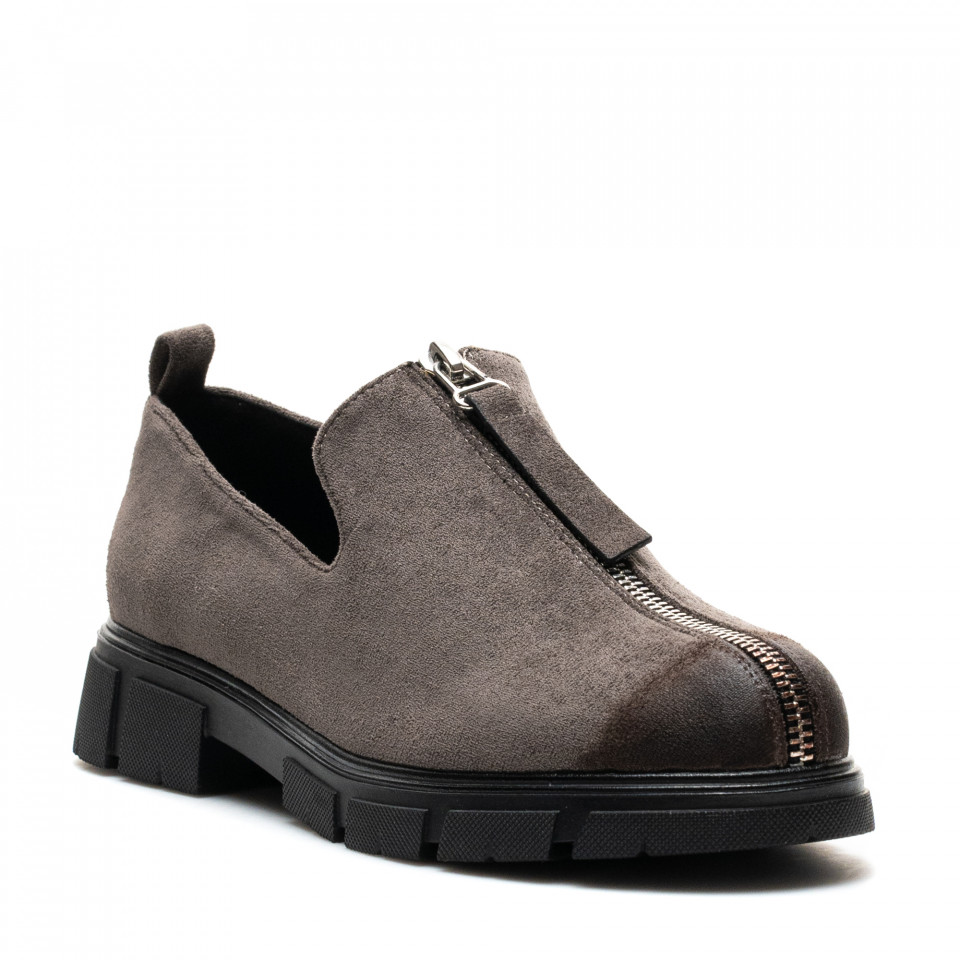 Pantofi Cod: W77-57B LT. GREY (G04)