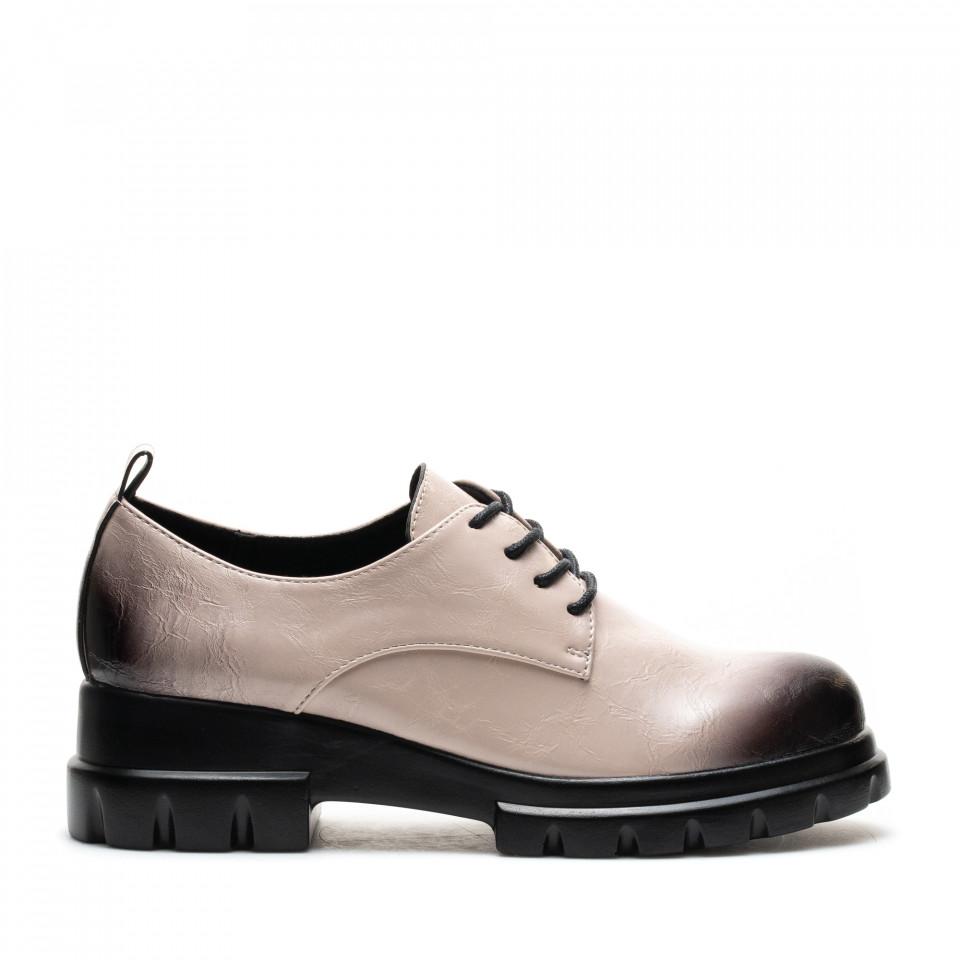 Pantofi Cod: W78-58D BEIGE (C 04)