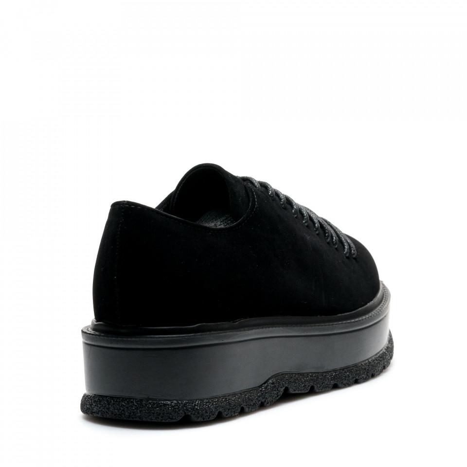 Pantofi Cod: XH-30 BLACK (D05)
