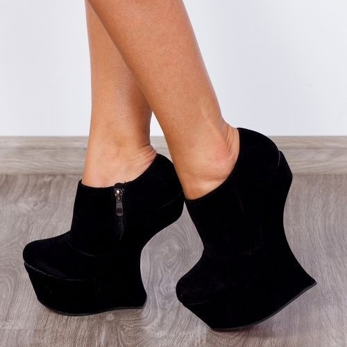 """Pantofi """"MEI Fashion"""" Cod: RZ-36 Black (M 01)"""