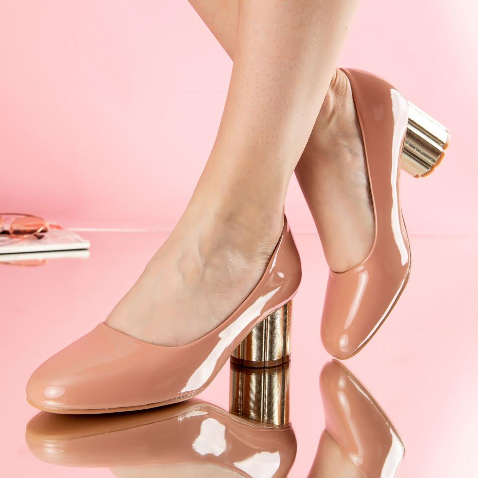 "Pantofi ""MireaFashion"" Cod: W750-3 PINK (C 03)"