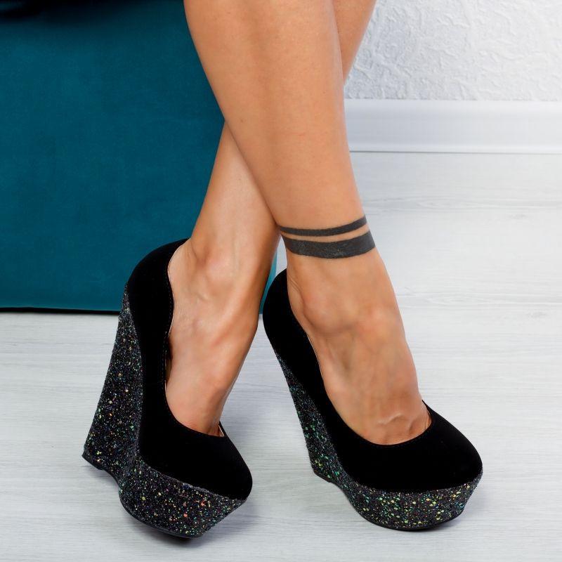 "Pantofi ""MireaFashion"" Cod: XKK7203 PURPLE (D06)"