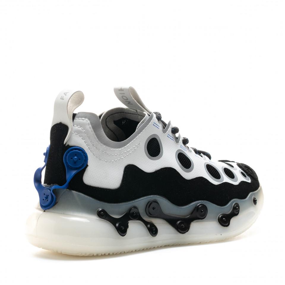 Pantofi Sport Cod: H19-1 WHITE (E01)