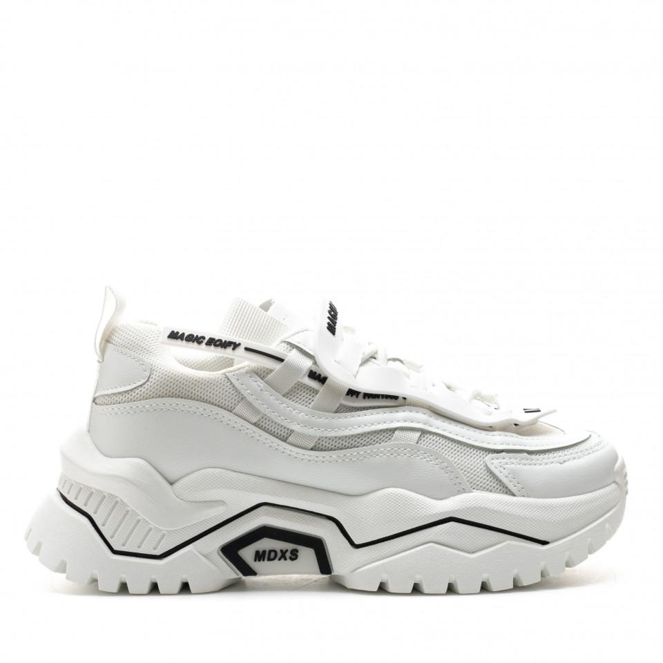 Pantofi Sport Cod: K03-2 WHITE (C 06)