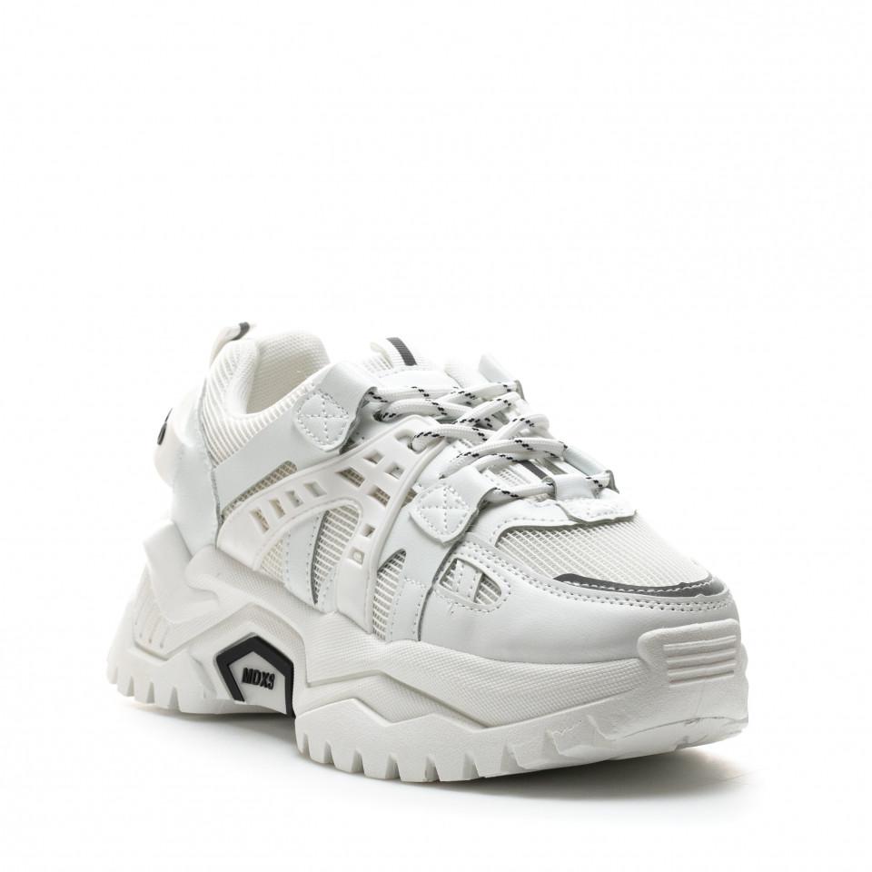 Pantofi Sport Cod: K09-2 WHITE (J02)
