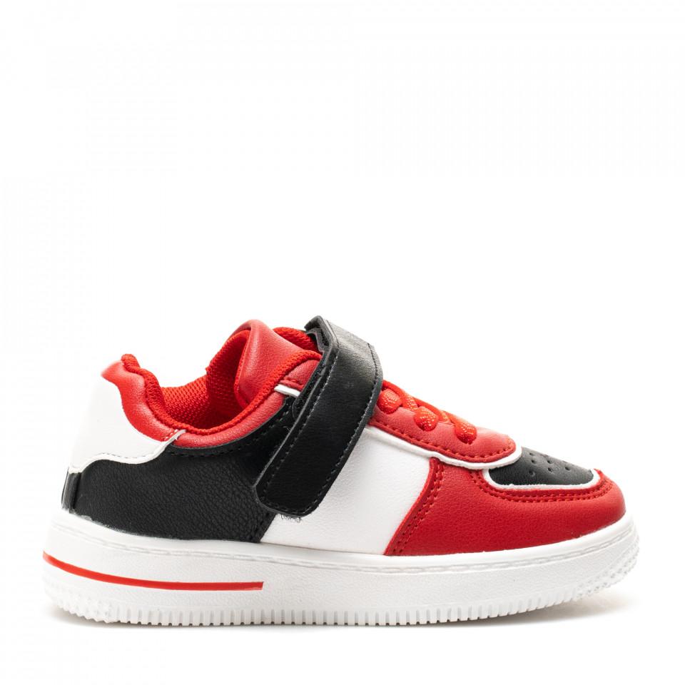 Pantofi Sport Cod: KJ07 RED/BLACK (H04)