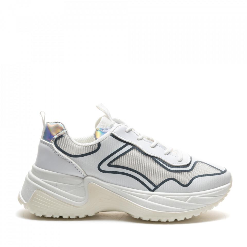 Pantofi Sport Cod: R-695 WHITE (D03)