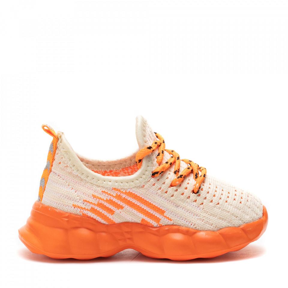 Pantofi Sport Cod: Z-7B BEIGE (J 03)