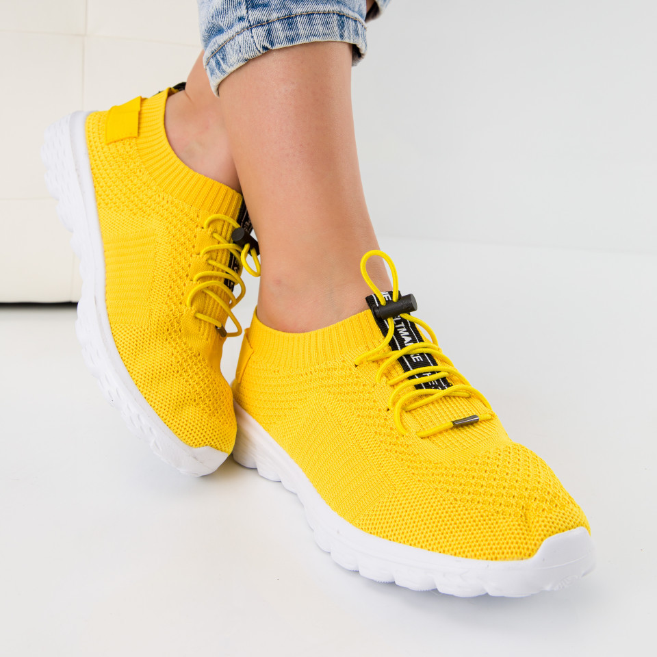 """Pantofi sport """"MireaFashion"""" Cod: 0131 YELLOW (A012)"""